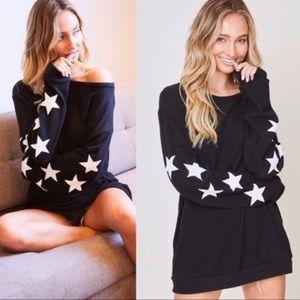Black and White Stars Shirt